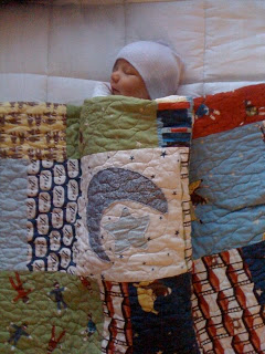 Finn's baby blankie - Quilting In The Rain