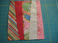 Strip Tease quilt top - Quick 'n Easy - Quilting Tutorials and Fabric Creations - Quilting In The Rain