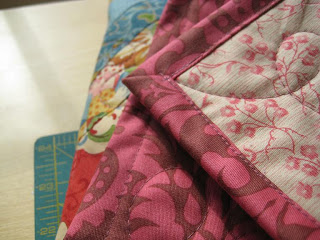 Quick Quilt Binding - Quilting Tutorials and Fabric Creations - Quilting in the Rain