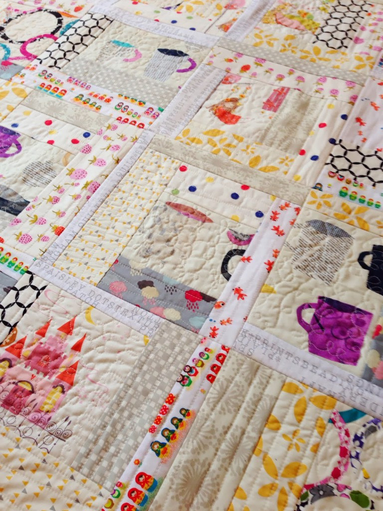 Quilt as you Go Log Cabin | Quilting in the Rain : quilt as you go log cabin - Adamdwight.com