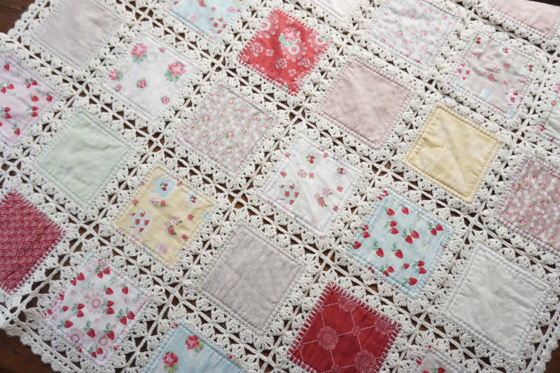 High Tea Crochet Quilt Quilting In The Rain